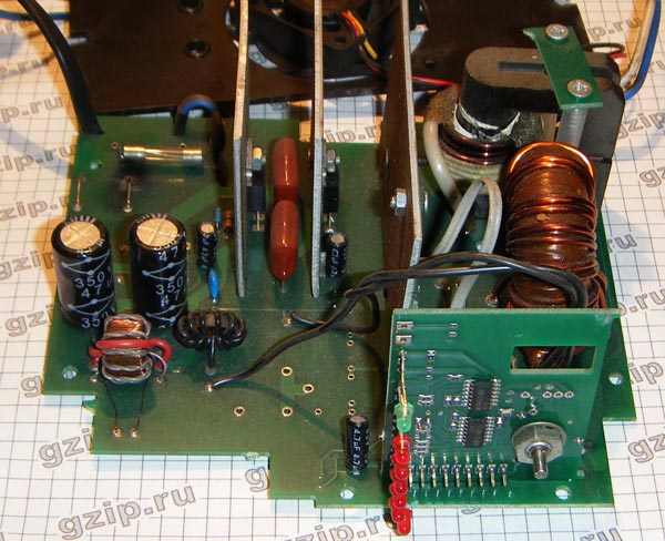 Печатная плата зарядного устройства Орион PW 320