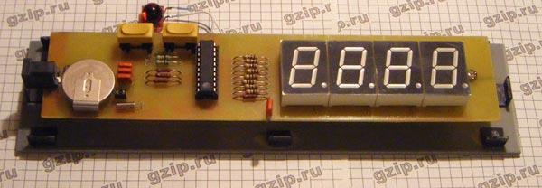 Электронные часы своими руками на микросхеме