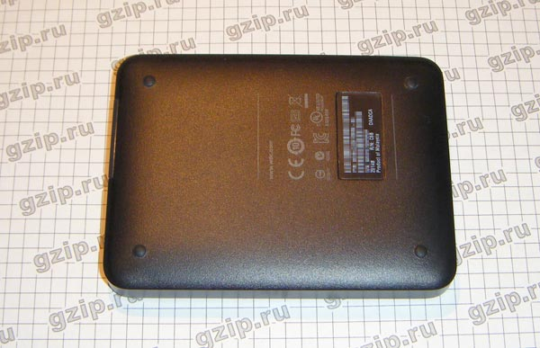 USB HDD Western Digital, вид снизу