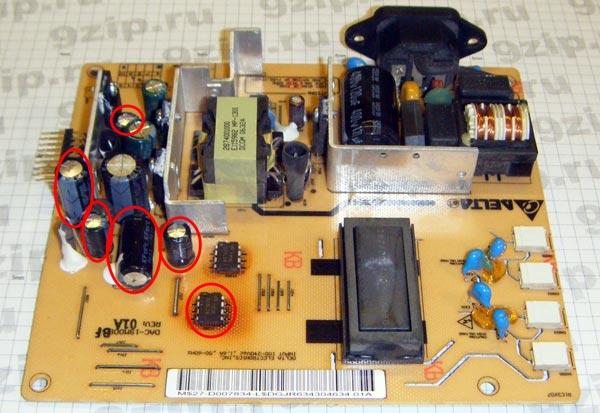 Блок питания DAC-19M008 BF 01A