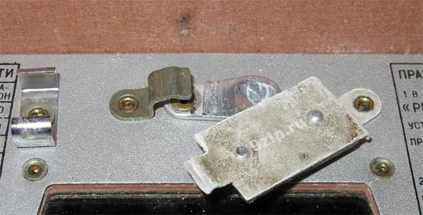 Рентгенометр дозиметр ДП Виртуальный музей старых радиодеталей  Контрольный источник ДП 5
