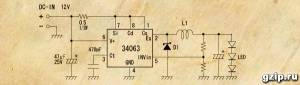 Драйвер на MC34063
