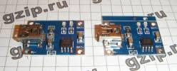USB зарядка на TP4056
