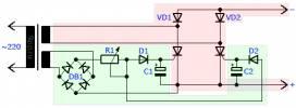 Схема мощного зарядного устройства на тиристорах