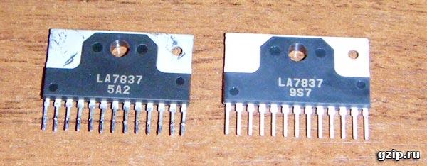 Микросхема кадровой развёртки LA7837